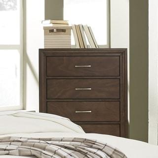 Progressive Skyline Brown Wood 4-drawer Chest
