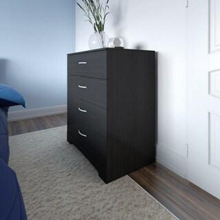 Ameriwood Home Crescent Point 4 Drawer Dresser