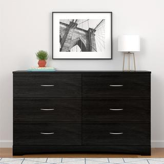 Ameriwood Home Crescent Point 6 Drawer Dresser