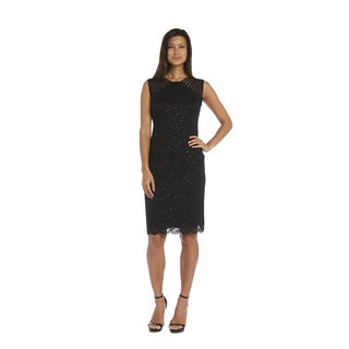 R&M Richards Black Lace Dress