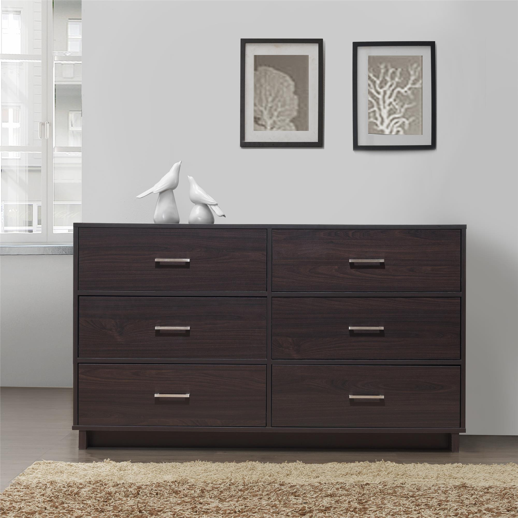 Clay Alder Home Troja Contemporary 6-drawer Dresser