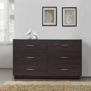 Ameriwood Home Colebrook 6 Drawer Dresser
