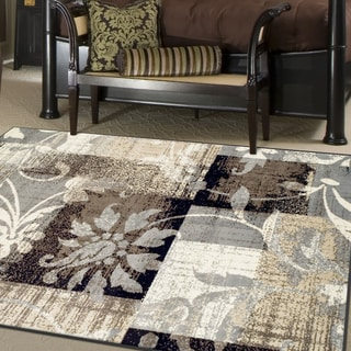 Miranda Haus Designer Pastiche Area Rug Collection (5' X 8') - 5' x 8'