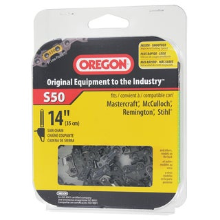 Oregon S50 14 inches highD Semi Chisel Cutting Chain