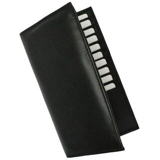 Swiss Marshal Premium Leather Bifold Credit Card ID Holder