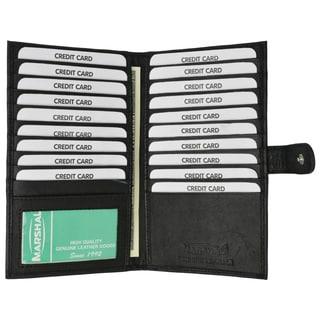 Swiss Marshal Leather Bifold Card Holder