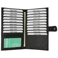 Swiss Marshal Leather Bifold Card Holder