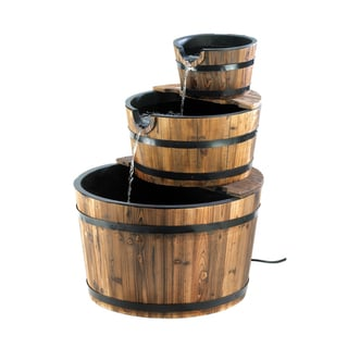 Koehler Home Decor Indoor Apple Barrel Fountain