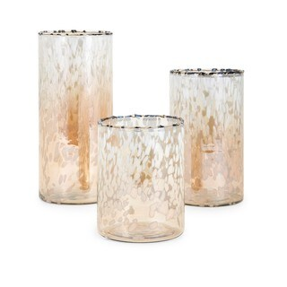 Trisha Yearwood Luxe Glass Hurricanes - Set of 3