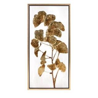 Trisha Yearwood Luxe Ginkgo Oil Painting