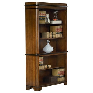 Kenton Brown Wood 5-shelf Bookcase