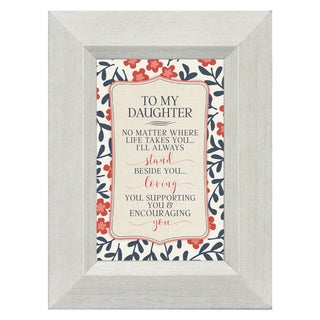 James Lawrence 'To My Daughter' Framed Art