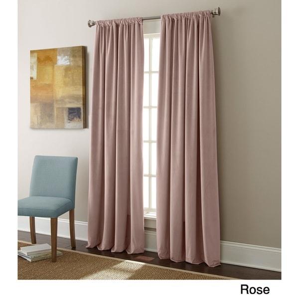 Sherry Kline Elite Velvet 84-inch Curtain Panel Pair