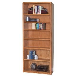 Martin Home Furnishings Cardiff Wood 7-shelf Bookcase