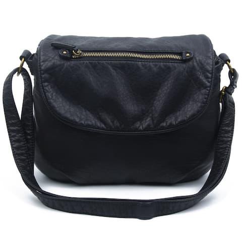 Ampere Creations Bonnie Saddle Crossbody Handbag