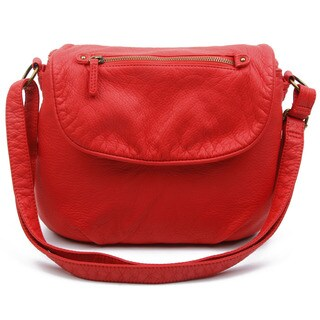 Ampere Creations Bonnie Saddle Crossbody Handbag
