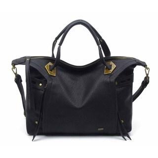 Ampere Creations Vegan Leather Ali Satchel Handbag