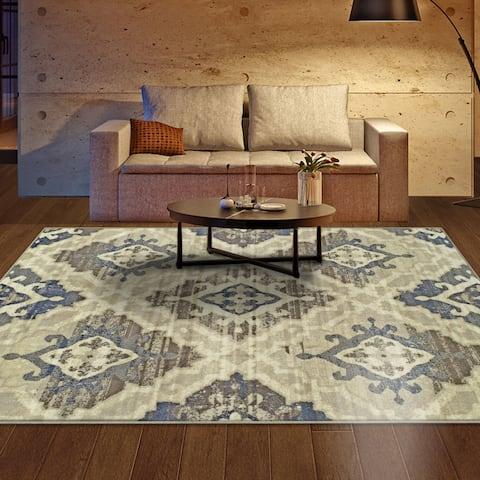 Superior Designer Walker Area Rug Collection (8' X 10') - 8' x 10'