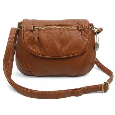 Ampere Creations Small Bonnie Saddle Crossbody Handbag