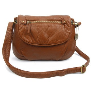 Ampere Creations Small Bonnie Saddle Crossbody Handbag