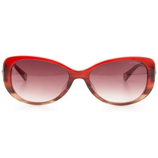True Religion SIONAN Honey Auga Women's Auga Frames Purple Lenses Sunglasses