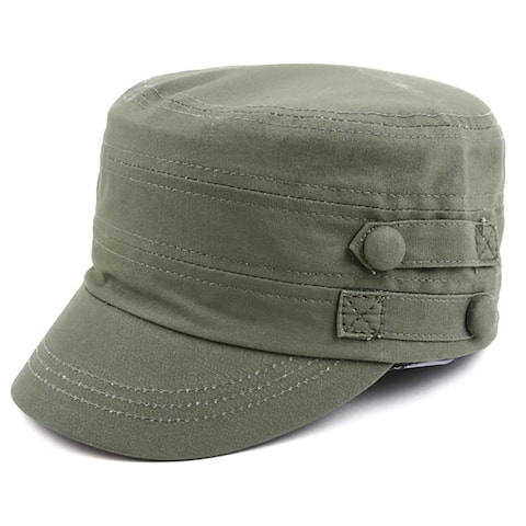 d795b6aaa7e8e Pop Fashionwear Cool New Military Style Spring Summer Hat
