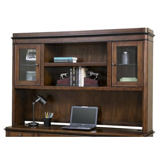 Kenton Brown Wood Hutch