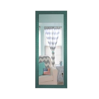 U.S. Made Country Cottage Blue Framed Mirror