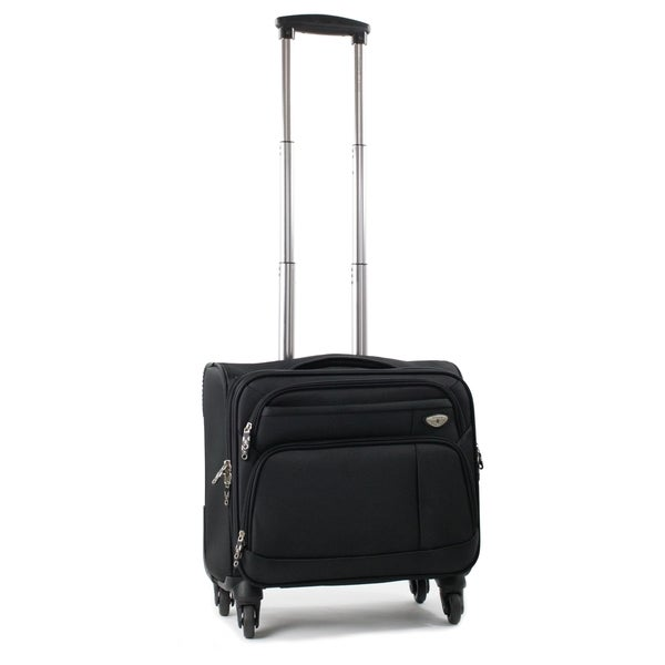 American Green Travel Carry On 17-inch Laptop Spinner Briefcase. Opens flyout.
