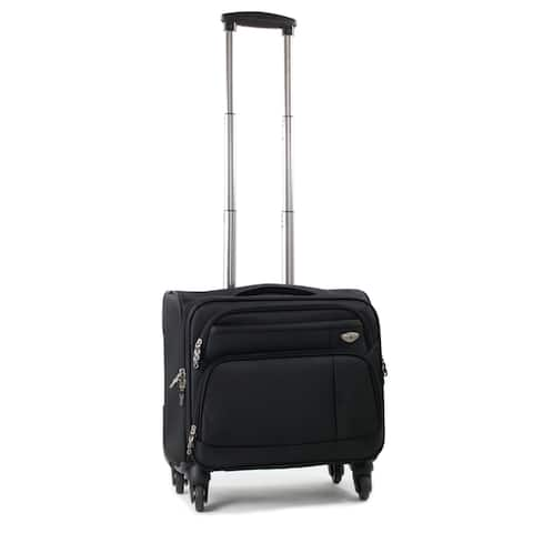 American Green Travel Carry On 17-inch Laptop Spinner Briefcase