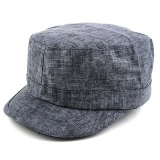 Pop Fashionwear Pop Unisex Cool Plain Linen Cadet Hat