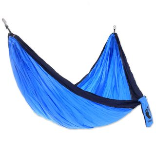 Nylon Parachute Hammock, 'Wave Wrangler For Hang Ten' (Single) (Indonesia)
