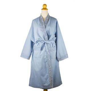 Cotton Robe, 'Gray Day' (Thailand)