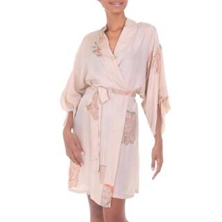 Silk Robe, 'Evening Impression' (Indonesia)