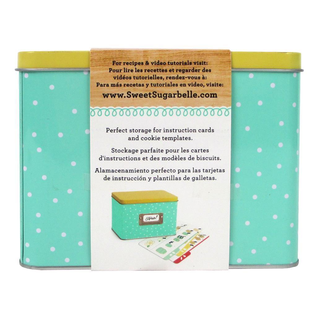 American Crafts AMC Sugarbelle Recipe Card Tin (Storage &...