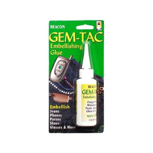 372c0455ca Beacon Gem-Tac Embellish Glue 2oz