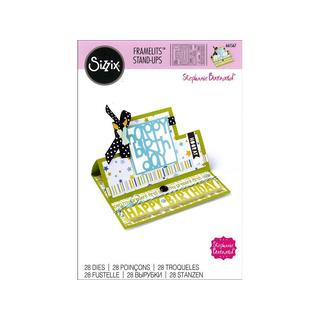 Sizzix SBarnard Framelits Die Card Stand Up Square