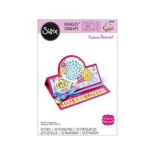 Sizzix SBarnard Framelits Die Card Stand Up Circle