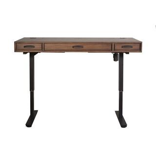 Nusbaum Brown Wood/Metal Standing Desk
