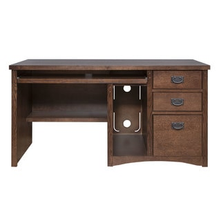 Modern Chrome 4 7 Foot Computer Desk Free Shipping Today