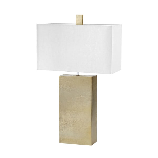 Dimond Lighting Gold Cement Tower Table Lamp