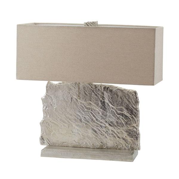 Dimond Lighting Beige Metal Slate Slab Table Lamp