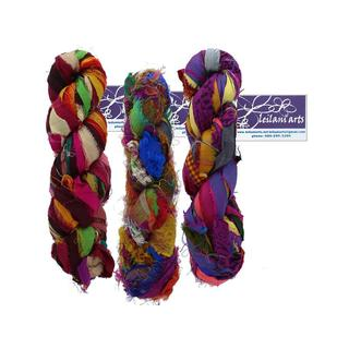 Leilani Arts Multicolored 60-yard Silk Ribbon