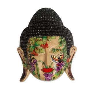 Wood Mask, 'Morning Glory' (Indonesia)