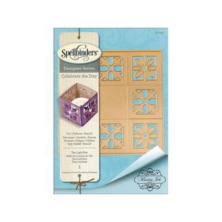 Spellbinders Shapeabilites Tea Light Box Die