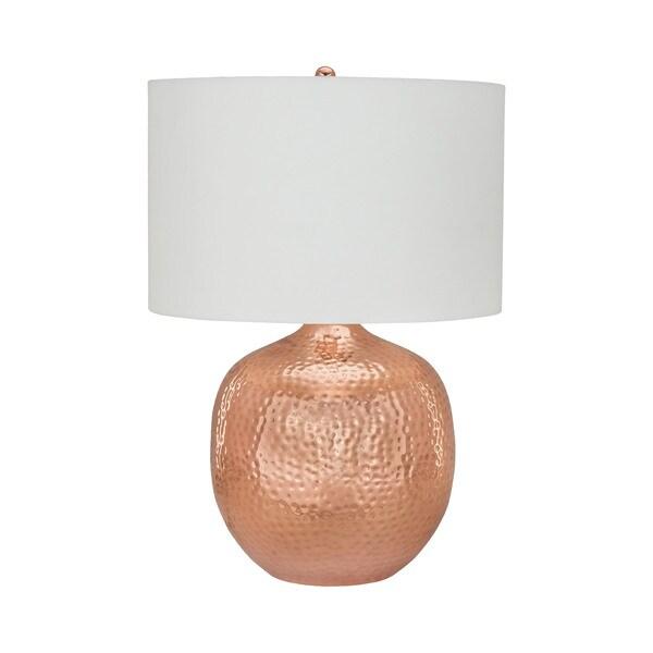 Dimond Lighting Praha Polished Copper Metal Table Lamp