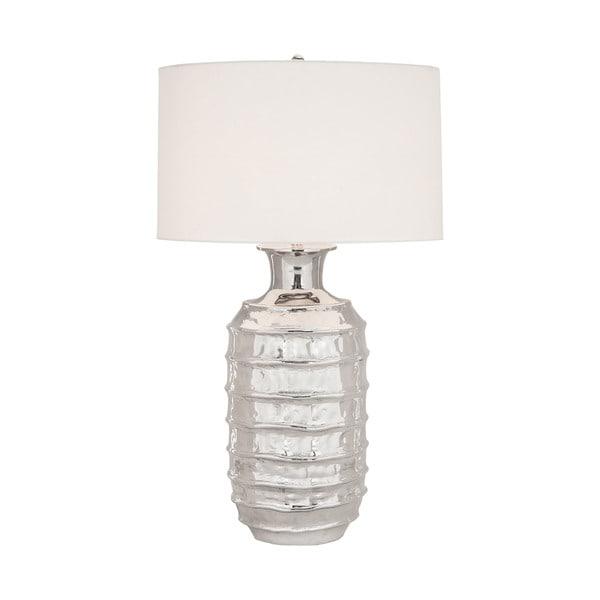 Dimond Lighting Plata Polished Nickel Metal Table Lamp