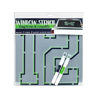 Clearsnap Window Stencil Kit Seahawks