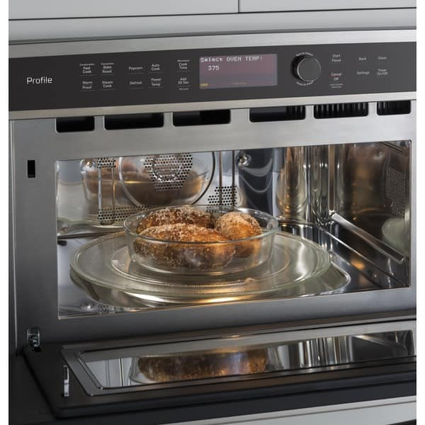 Ge Cafe Series Built In Microwave
