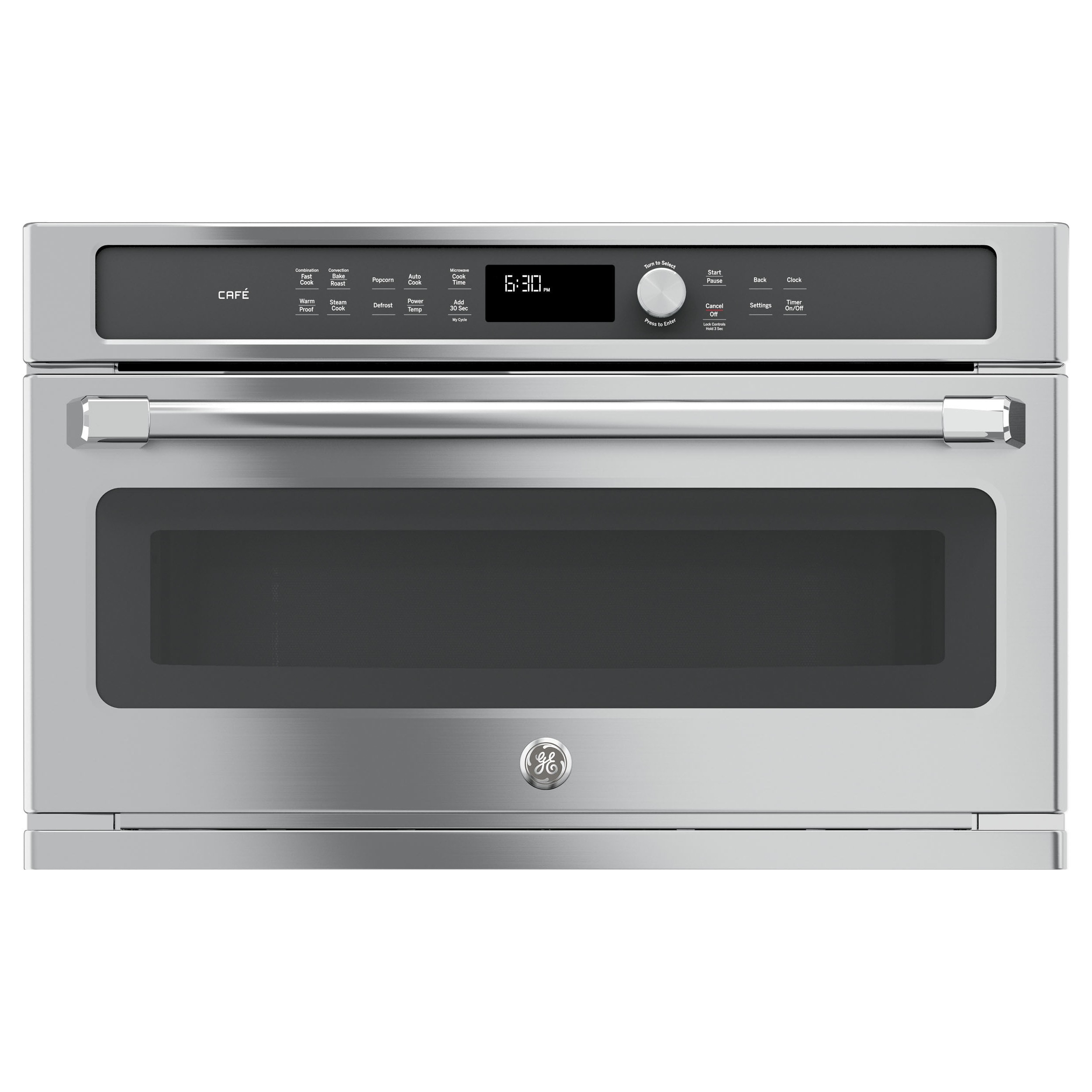 GE Cafe Series Built-In Microwave/Convection Oven (Stainl...